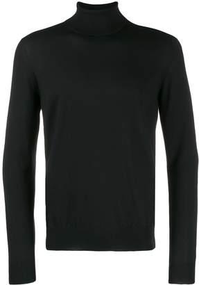 Fay turtleneck fine knit sweater