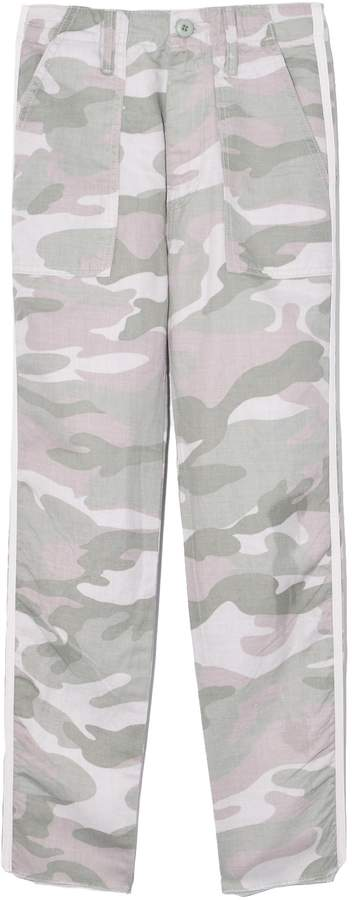 681e2435e0dd3 The Shaker Chop Crop Fray Pant in Desert Print