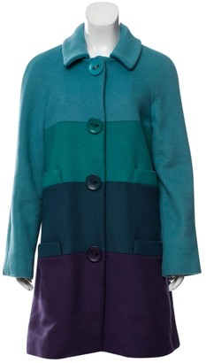 Marc Jacobs Turquoise Wool Coat for Women