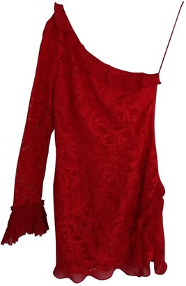 Alexis Red Lace Dress for Women
