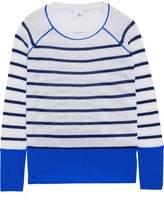 Iris & Ink Naomi Striped Cashmere Sweater