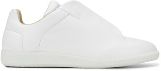 Maison Margiela Future concealed lace fastened trainers