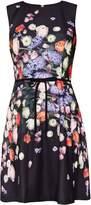 Ted Baker Izobela Kensington Floral Bow Detail Shift Dress