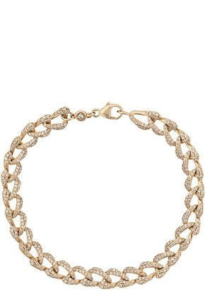 Astley Clarke 14kt yellow gold Vela Tennis diamond bracelet