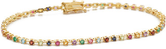 Ariel Gordon 14k Gold Candy Crush Tennis Bracelet