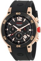 Redline Red Line Men's Mission Chronograph Dial Silicone Watch RL-50033-RG-01