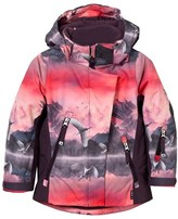 Molo Pink Mountains Pearson Ski Jacket