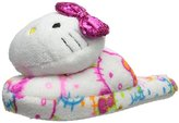 Hello Kitty Women's Printed Plush Slipper