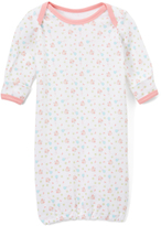 Pink & White Birdies Gown - Infant