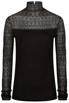 Polo Ralph Lauren Stretch Lace Turtleneck Jumper