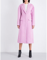 3.1 Phillip Lim Ladies Candy Pink Avant Garde Single-Breasted Tailored Woven Overcoat