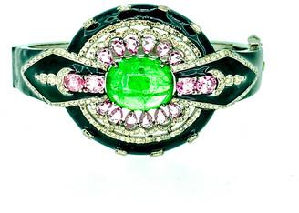 Arthur Marder Fine Jewelry 4.88 Ct. Tw. Diamond, Gemstone, & Enamel Bracelet