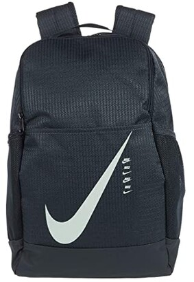 Nike Brasilia Medium Carryall Backpack 9.0 (Black/Black/Black) Backpack Bags