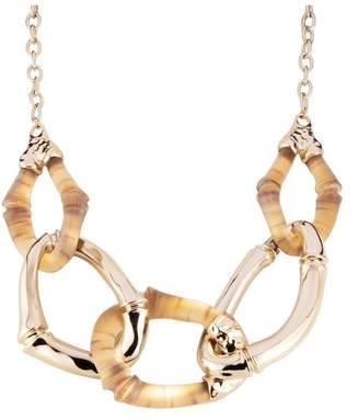Alexis Bittar Bamboo Link Necklace