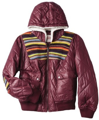 Mossimo Women's Plus-Size Retro Puffer Jacket - Assorted Colors
