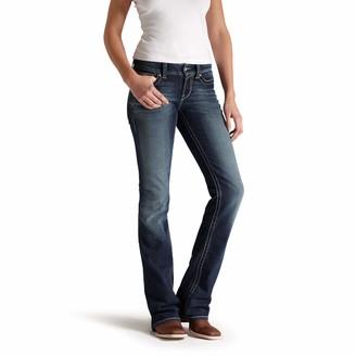 Ariat Women's R.E.A.L. Riding Mid Rise Boot Cut Jean