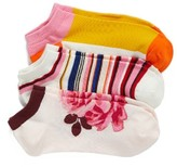 Kate Spade Women's Rosa Pack Of 3 No-Show Socks