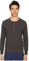 Jack Spade Sueded Long Sleeve Henley