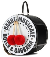 Dolce & Gabbana Leather bag with fur