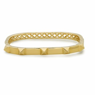 Artisan 18K Yellow Gold Spike Bangle