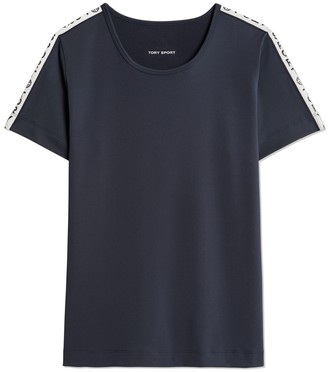 Tory Burch Banner Performance T-Shirt