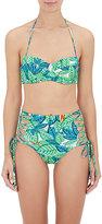 Mara Hoffman Women's Bustier Bandeau Bikini Top-WHITE