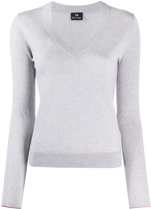 Paul Smith slim-fit V-neck pullover