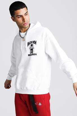 boohoo Death Row Records License Hoodie