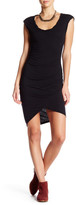 Pam & Gela Scoop Neck Twisted Knit Dress