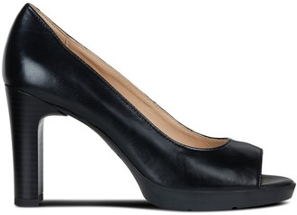 Geox Annya Breathable Leather Heels