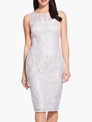 Adrianna Papell Lace Sheath Dress, Ivory