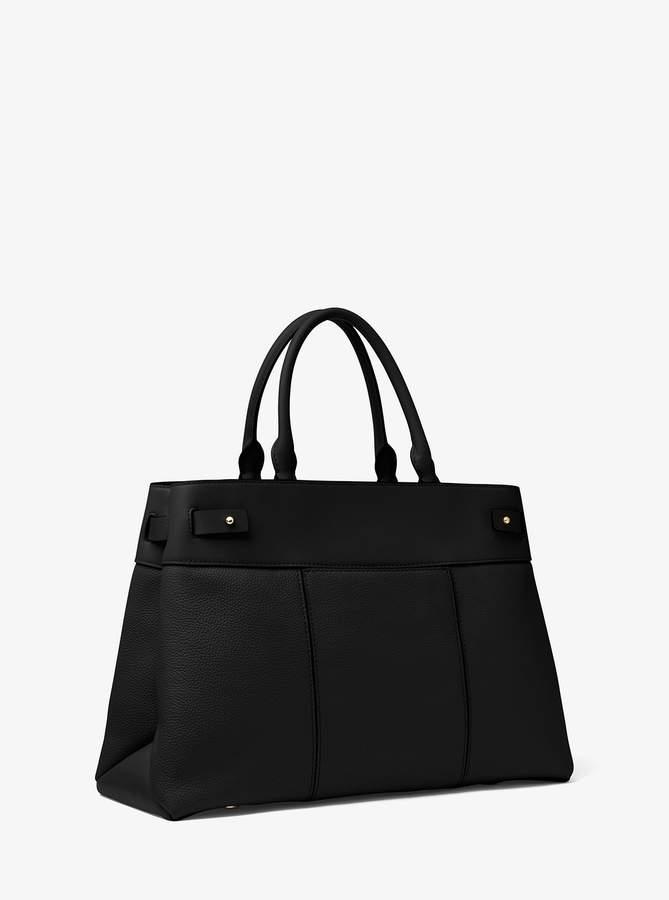 bc57525edd01 MICHAEL Michael Kors Black Top Handle Handbags - ShopStyle