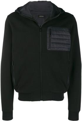 Ermenegildo Zegna Quilted Hooded Sweatshirt