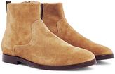 Hudson Lancing Suede Boot Sand