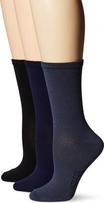 Hot Sox Women's 3 Pack Originals Classics Crew Socks