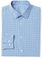 Gap Poplin window pane standard fit shirt