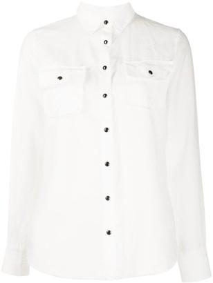 Gold Hawk linen long sleeve shirt