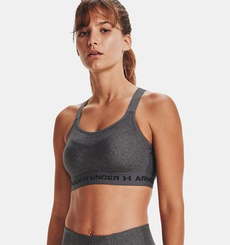 Under Armour Women's Armour High Crossback Heather Sports Bra