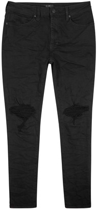 Neuw Rebel Distressed Skinny Jeans