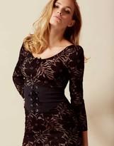 Agent Provocateur Audrey Waspie Dress Black