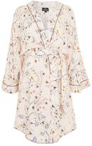 Topshop Maternity floral robe