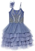 TUTU DU MONDE - Girl's Blue Bird Tutu Dress