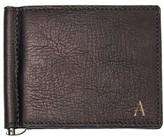 Cathy's Concepts Men's Monogram Leather Wallet & Money Clip - Brown