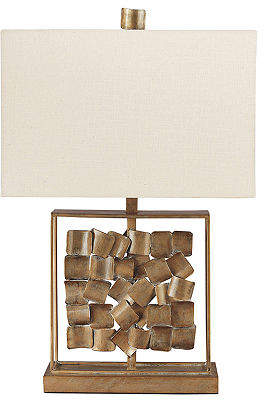 Signature Design by Ashley Evera Metal Table Lamp
