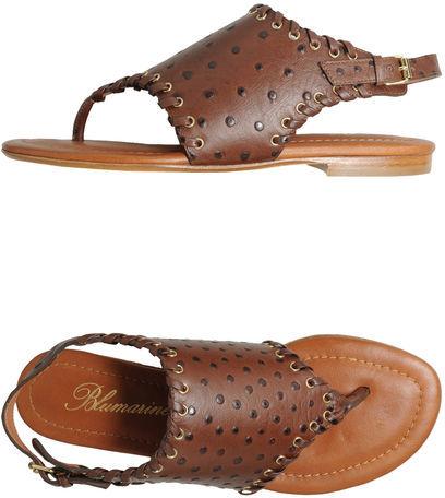 Blumarine Flip flops