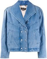 Isabel Marant double breasted denim jacket