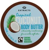 Boots Extracts refresh Boots Extracts [Coconut Body Butter] 200ml Containing Fairtrade ingredients