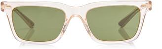 Oliver Peoples BA Square-Frame Acetate Sunglasses