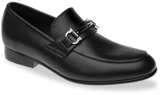 Venettini Boy's Ace Buckle Leather Dress Shoes