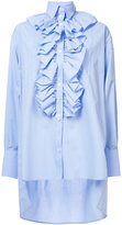 Faith Connexion oversized popover ruffled shirt